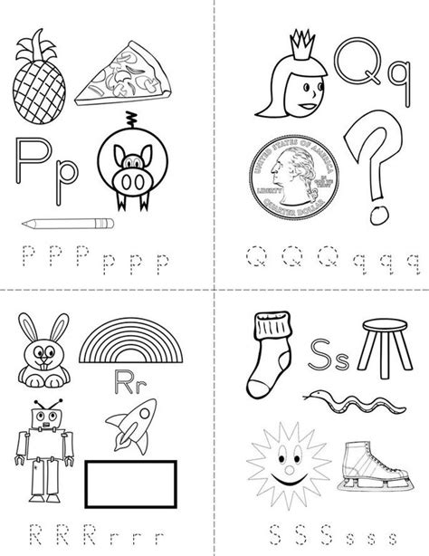 printable alphabet book my alphabet book printable