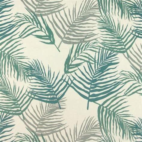 stoff hängesessel upholstery velvet offwhite w palm leaves stoff stil
