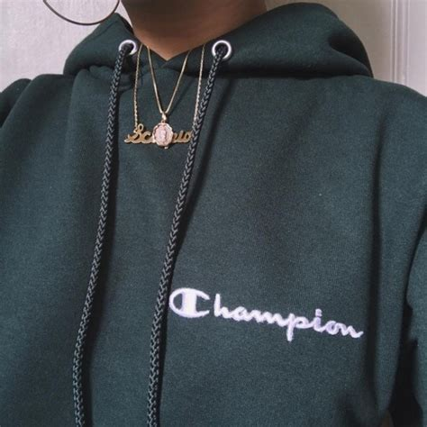 Jaket Sweater Hoodie Supreme X Cahmpion Collage High Premium sweater chion hoodie green chion chion army