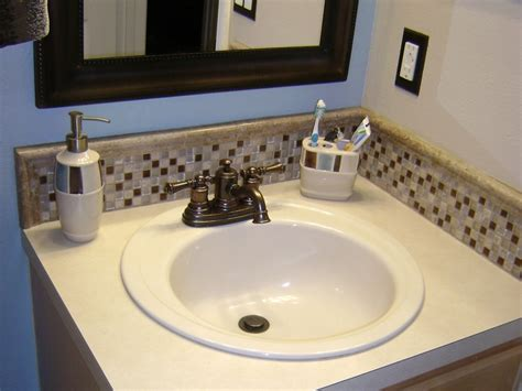 bathroom sink without backsplash home design ideas