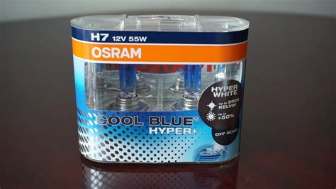 Osram Cool Blue Hyper Plus Cbh H4 Dijamin Original Termurah 12v osram cool blue hyper plus 5000k