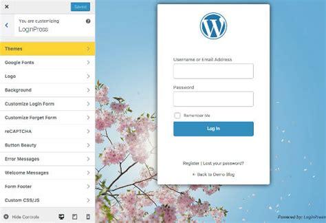 membuat wordpress menjadi keren cara membuat login wordpress terlihat lebih keren dengan