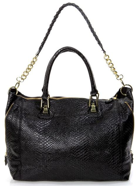 Steve Madden Purse by Steve Madden S Black Bstanlee Large Tote Satchel Handbag Purse Bag New