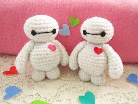 Baymax Motif a everyday baymax amigurumi pattern crochet