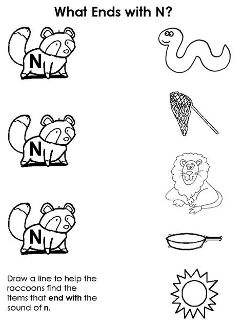 kindergarten activities letter n 17 best images about writing worksheets for pre k class on
