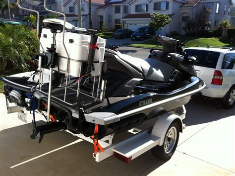 jet boat fishing accessories jet ski fishing trip to la jolla bloodydecks