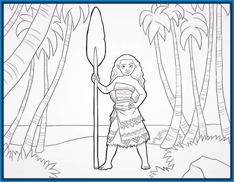 ver imagenes faciles para dibujar vamos a ver dibujos para dibujar divertidos moana