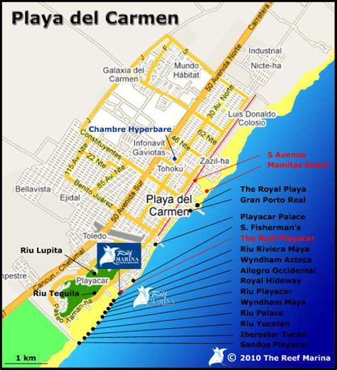 printable map playa del carmen carte mexique cancun playa del carmen my blog