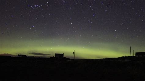 Shetland 2017: Otters and the northern lights