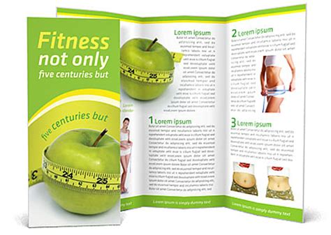 nutrition brochure template diet brochure template design id 0000000653