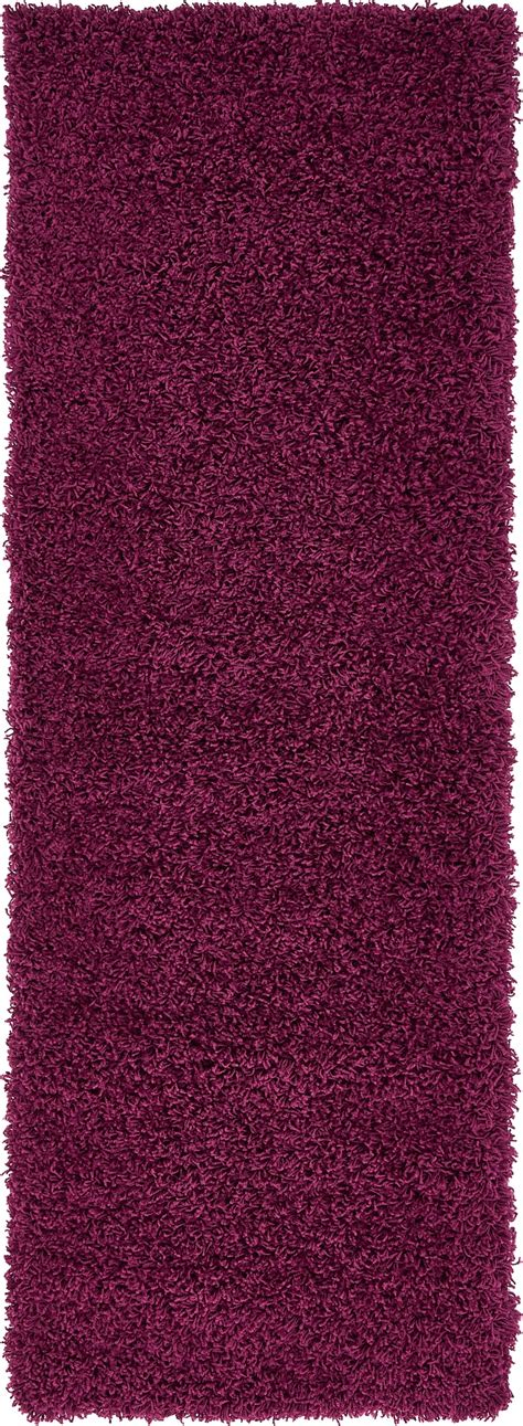 Modern Purple Rugs Purple Shaggy Contemporary Rug Soft Warm Modern Plain Carpet Fluffy Ebay