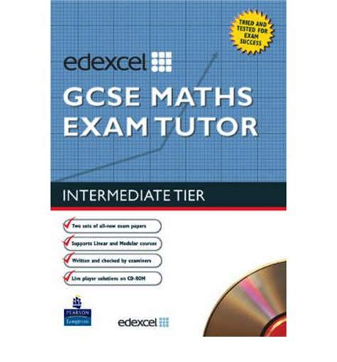 libro wjec gcse maths intermediate edexcel gcse maths exam tutor intermediate trevor johnson 9781405816410