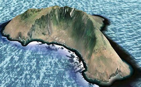 Triangular Kitchen Island 300 foot tsunami and east coast destruction