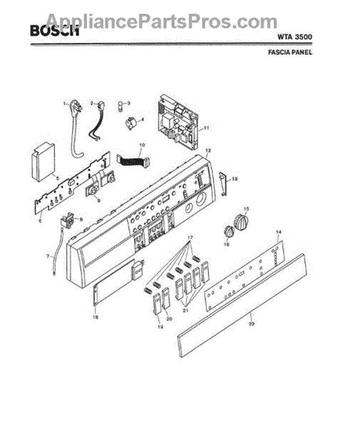 bosch dryer parts diagram bosch 00460721 power cord appliancepartspros