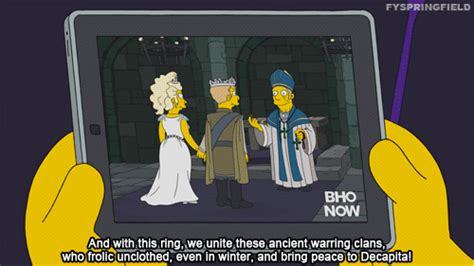 Simpsons Of Thrones by Reaction Gif Find On Giphy