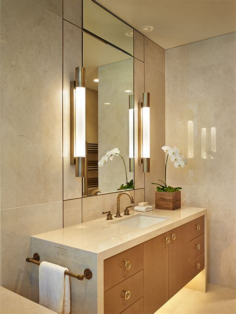 waterfall bathroom vanity crema marfil stone source