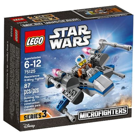 Dijamin Lego 75125 Wars Resistance X Wing Fighter lego 174 wars resistance x wing fighter 75125 target