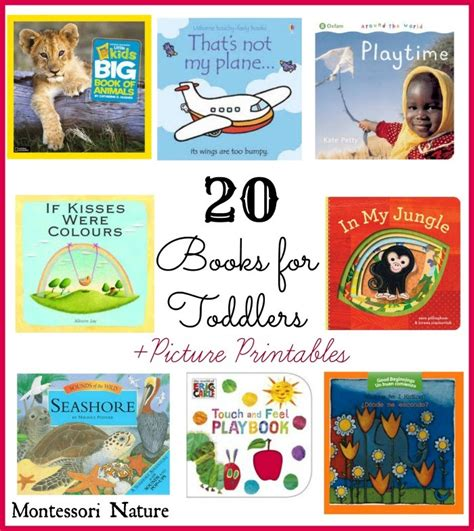 montessori printable books 20 books for toddlers and toddler picture printables