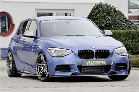 Bmw 1er F20 Frontspoiler by Bmw F20 F21 Rieger Styling Frontsplitter M Tech Carbon