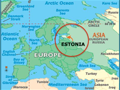 where is estonia on a map estonia map world map