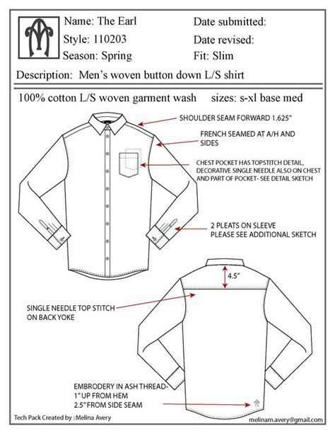 flat pattern making pdf 43 best images about shirt flat sketch on pinterest