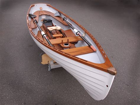p row boat classic whitehall spirit 174 14 sailing rowboat with optional