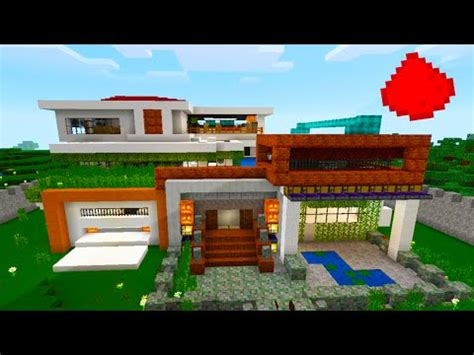 mcpe modern house mcpe modern redstone house quot array quot w 30 redstone creations redstone builds