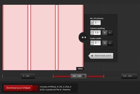 responsive grid layout generator gridpak the responsive grid generator yinyang s
