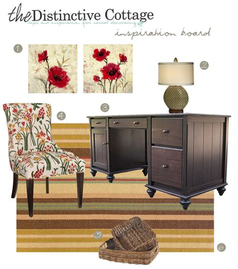 cottage style office cottage style office inspiration board cottage decorating