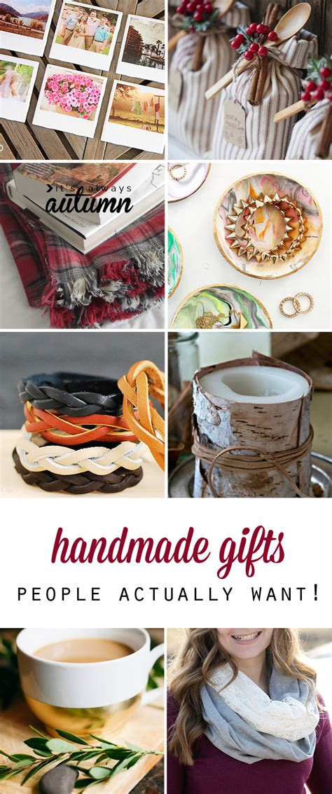 Easy To Make Handmade Gifts - 25 amazing diy gifts will actually want it s