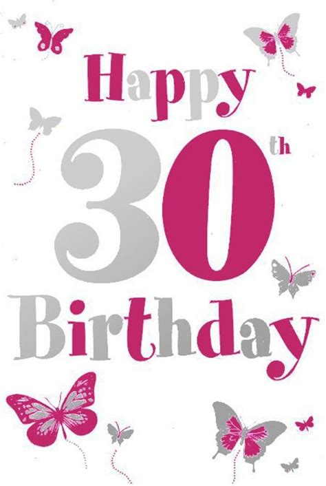 happy 30th birthday card template yellow flower clipart 30th birthday pencil and in color