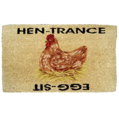 Chicken Doormat by Hen Doormat This Sayingwould Be Great Painted On The Coop