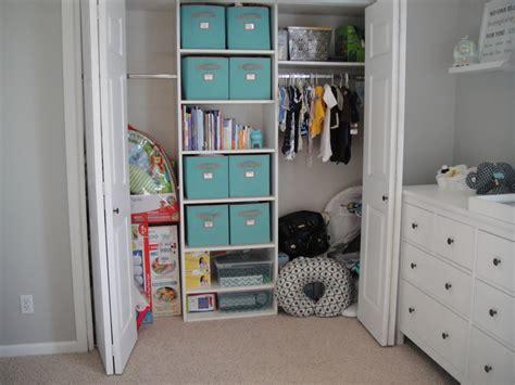 Closet Organizer For Nursery by Modern Boy Nursery Project Nursery