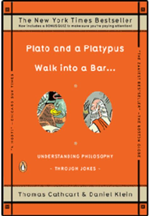 a walks into a bar a novel vintage international books plato and a platypus walk into a bar