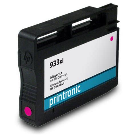 Hp Original Ink Cartridge 933 Magenta 1pk hp 933xl magenta cn055an ink cartridge officejet 6100