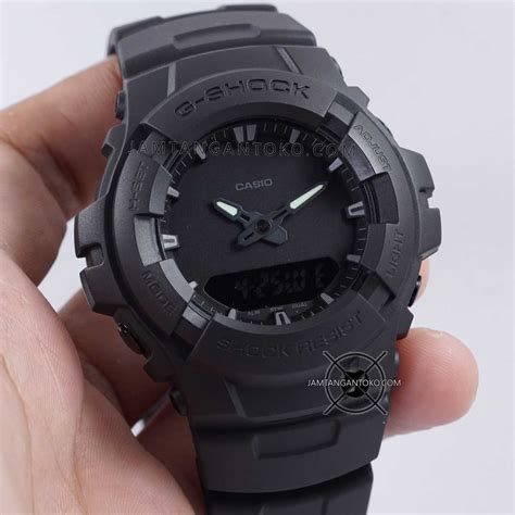 Jam Gshock Black harga sarap jam tangan g shock g 100bb 1 black
