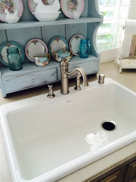 The Beehive Cottage New Farm Style Kitchen Sink Farm Style Kitchen Sink