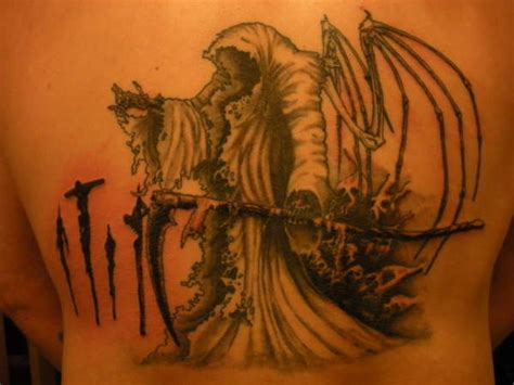 angel of death tattoo of tattoos exles and ideas designs