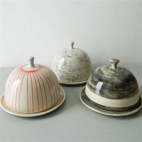 Handmade Pottery Dishes - butter dishes plates handmade pottery ceramics