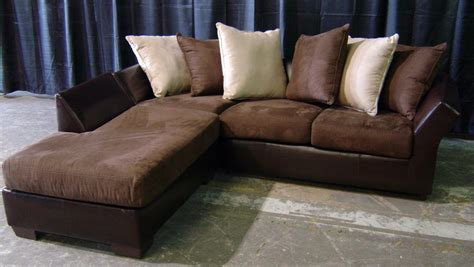 Suede Sectional Sofas Leather And Suede Sofa Sectional Sofa Leather And Suede Thesofa