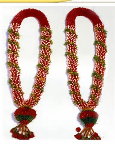 Flower Garlands For Indian Weddings Perumal Flowers