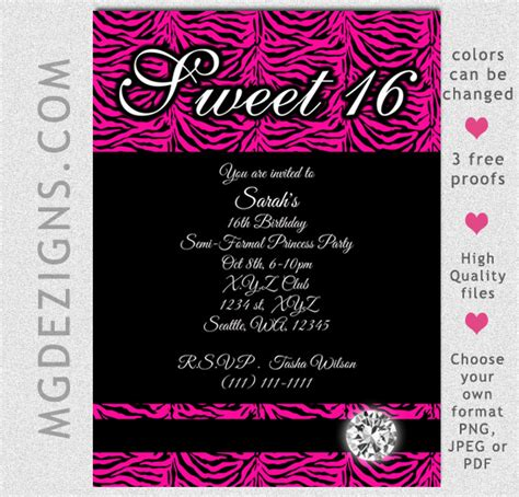 8 Best Images Of Free Printable Sweet 16 Invitations Sweet 16 Invitation Templates Printable Sweet Sixteen Invitations Templates