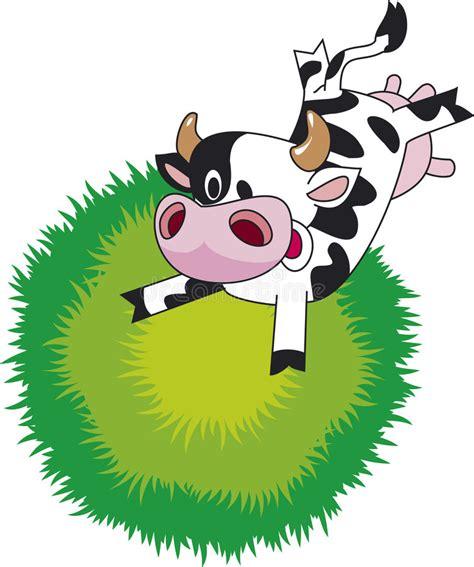 clipart mucca mucca divertente illustrazione vettoriale illustrazione