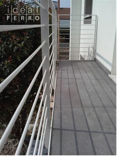 ringhiera terrazzo ringhiera in ferro zincato a caldo e verniciato idealferro