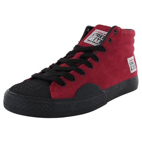 wear shoes vision wear mens suede hi retro fashion skate shoe