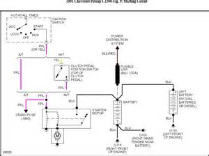 location of starter relay schematic shows relay in engine