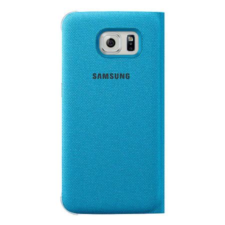 Samsung Official S View Cover Samsung Galaxy S6 G920 official samsung galaxy s6 s view fabric premium cover