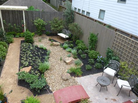 Grassless Backyard Ideas Contemporary Grassless Landscape In West Contemporary Houston By Nature S Realm