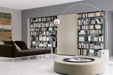 Home Library Interior Design Modern Library Decobizz