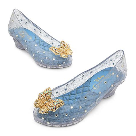 deluxe cinderella gold butterfly costume shoes rhinestones